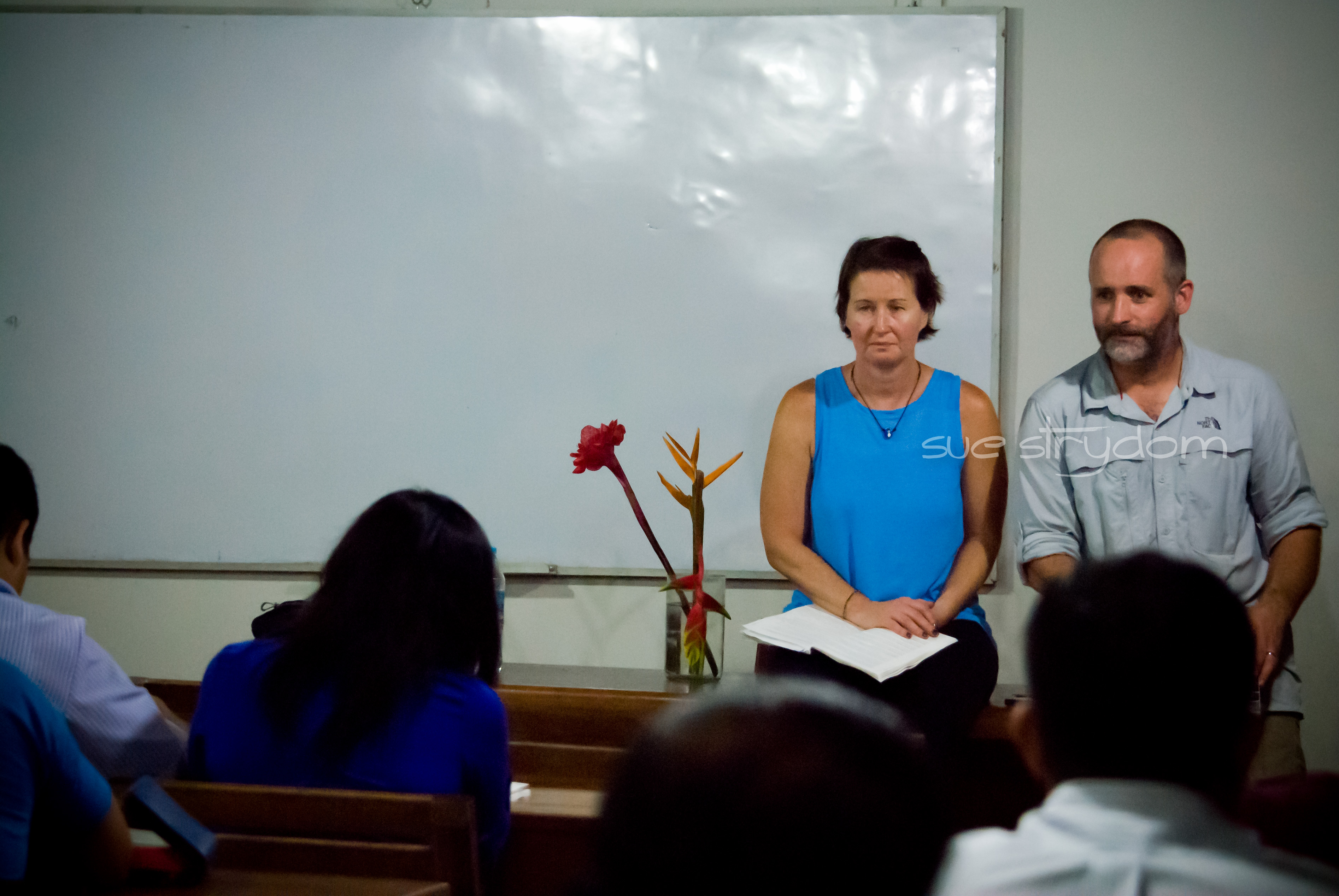 Patrick and Stacey sharing their story at re|engage.
