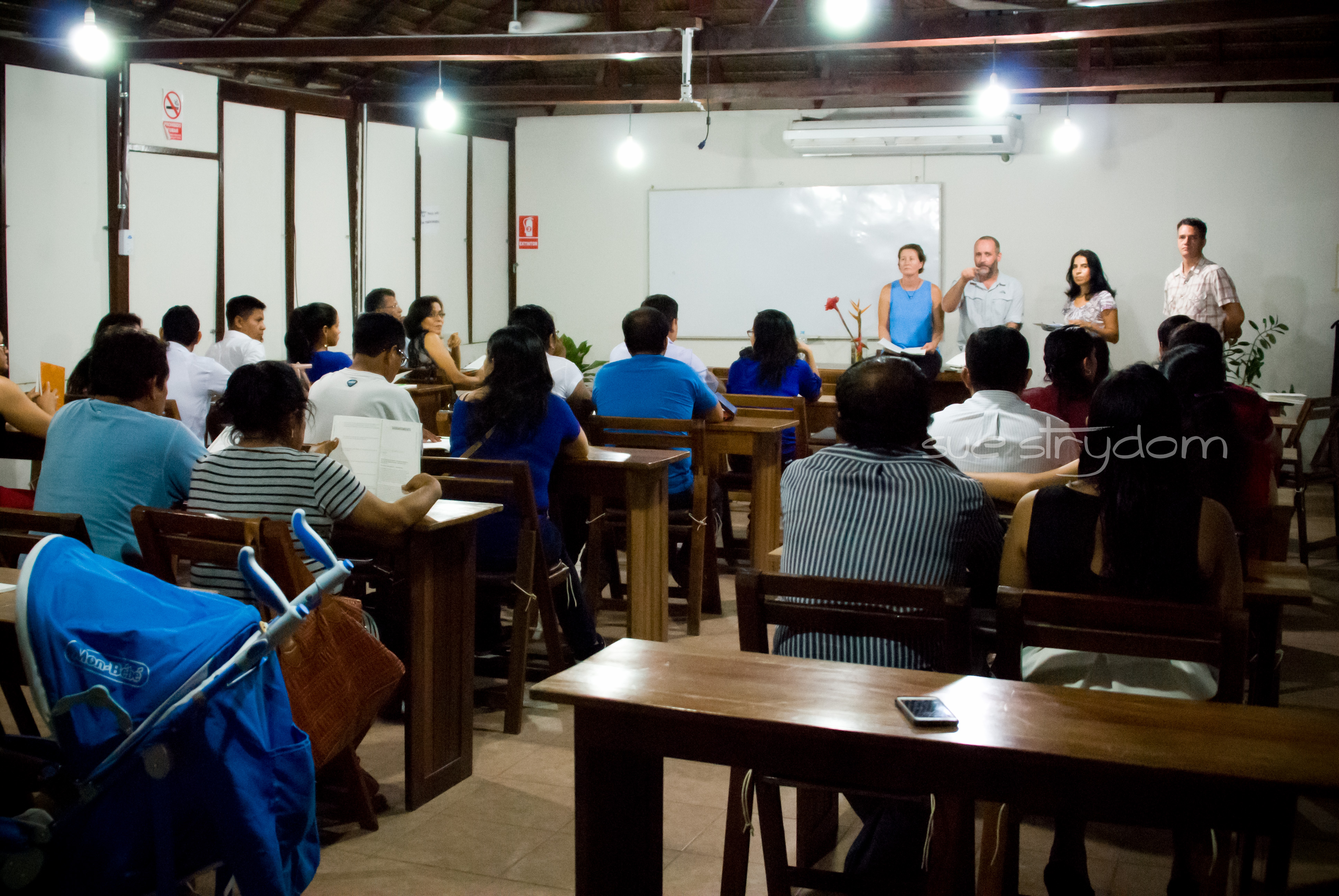 Our re|engage meetings took place in the gorgeous Manish Ecological Hotel in Pucallpa.